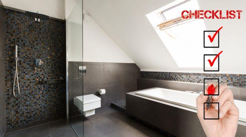 Bathroom Survey Checklist