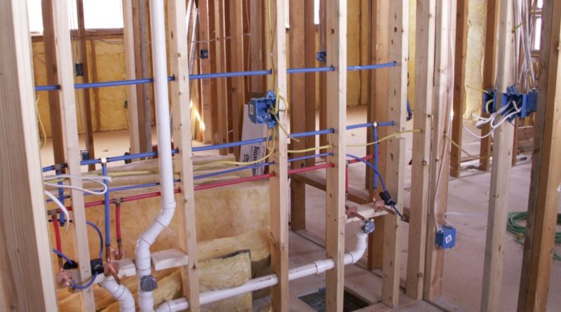 Bathroom Wall Construction and Framing