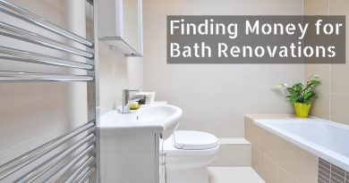 Finding Money for Bath Renovations