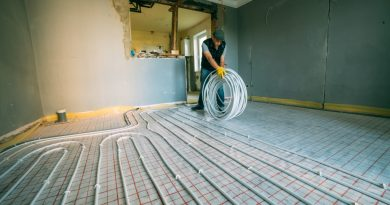 Installing Under-Floor Electric Radiant Heat