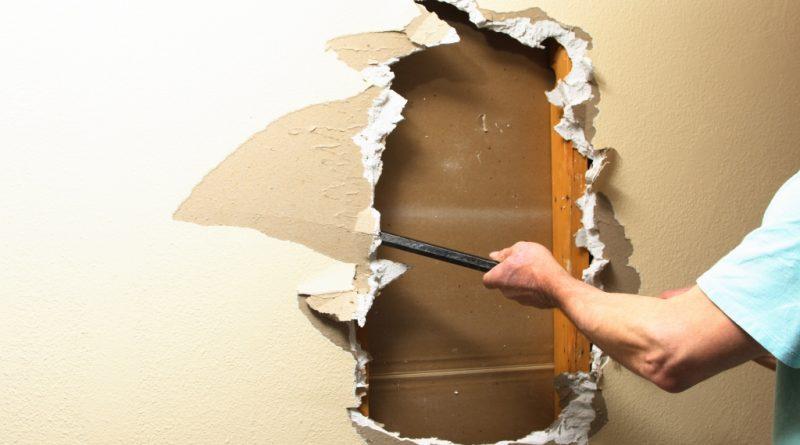 Remove Bathroom Drywall