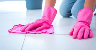 Cleaning Your Bathroom Tile Floors
